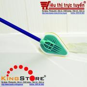 Cây lau sàn nhà vệ sinh, lau kính 3in1- 3 lớp, xoay 180 độ thích hợp mọi địa hình, không gây xước bề...