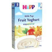 Bột ăn dặm hoa quả và sữa chua Hipp 250g