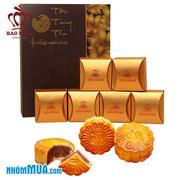 Bánh trung thu Bảo Ngọc hộp Phong Nguyệt (6 bánh)