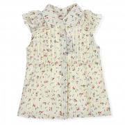 Áo hoa tay bèo Kiza dành cho bé gái