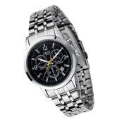 Đồng hồ nam dây thép không gỉ Narry NR6033 - 1B (Đen)