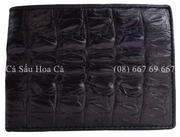 Bóp da cá sấu Hoa Cà gai đuôi - 1141
