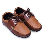 Giày Mọi Bé Trai Cột Dây AZ79 BTM0150002 - Nâu