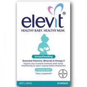 Elevit Breastfeeding vitamin cho mẹ sau sinh của Úc 60 viên