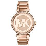 Đồng hồ nữ dây thép không gỉ Michael Kors MK5865 (Vàng hồng)