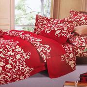 Bộ ga giường cotton móc biển đỏ Tmark