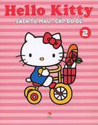 Sách Tô Màu Hello Kitty - Cấp Độ Dễ T2