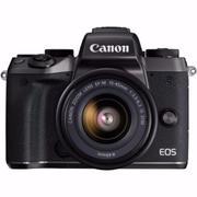 Máy ảnh Canon EOS M5 với Lens Kit 15-45mm F/3.5-6.3 IS STM - Hãng phân phối chính thức