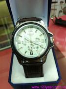 Đồng hồ dây da Tisot 3 mặt phong cách nổi bật DHNN83