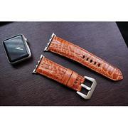 Dây đồng hồ Da Đà Điểu Chân cho Apple Watch 1 and 2 (Apple Watch Sport) size 38mm và 42mm