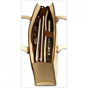 Milano Edge Collection #3913 Top Zip Business Tote
