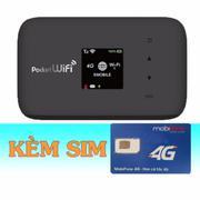 Bộ Phát Wifi 3G/4G Emobile GL09P+Sim 4G Mobifone 9GB/Tháng