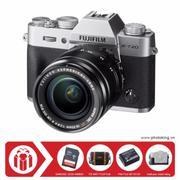 FujiFilm X-T20 KIT XF 18-55mm F/2.8-4 OIS (Bạc) + Tặng kèm Thẻ nhớ Sandisk SDHC 32Gb 48Mb/s (320x) +...