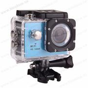 Camera hành trình HD1080 SPORT CAM A19 có Wifi (Xanh)
