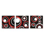 Tranh trang trí vòng tròn tình yêu Thế Giới Tranh Đẹp Q6D6_30V