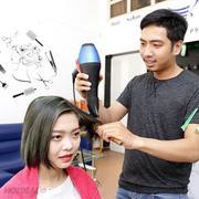 Hair Salon Khoa - Uốn/ Duỗi/ Nhuộm + Cắt + Gội + Sấy - Tặng Hấp Dầu + Dầu Dưỡng Collagen