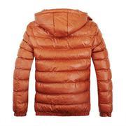 Men's Hooded Autumn winter Korean Version Slim Detachable Cotton Padded Coat Thickened Gentleman Coa...