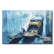Tranh in canvas sơn dầu Thế Giới Tranh Đẹp Scenery 053