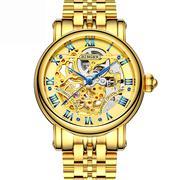 Đồng hồ nữ chạm rỗng Binger số La Mã