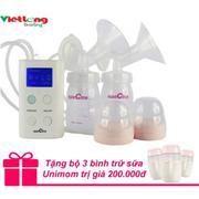 Máy hút sữa Spectra 9plus hút đôi + Tặng bộ 3 bình trữ sữa Unimom trị giá 200.000đ