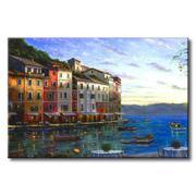 Tranh in canvas sơn dầu Thế Giới Tranh Đẹp Scenery 157