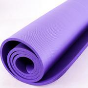 Thảm tập Yoga siêu bền loại dày 10mm TPE (Tím)