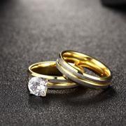 Women Fashion Titanium Steel Ring - Intl