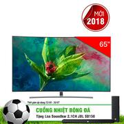Smart Tivi Màn Hình Cong Samsung 65 inch QLED 4K QA65Q8CNAKXXV