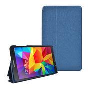 Bao da Samsung T330 Galaxy Tab 4 8.0 inch - xanh đậm