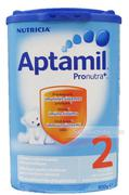 Sữa Aptamil Pronutra 2 (Đức) (800g) (6-12 tháng)