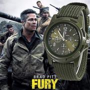 Đồng hồ dây vải quân đội đẳng cấp thời trang
