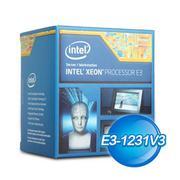 CPU Intel Xeon  E3 1231V3 - 3.4GHz / (4/8) / 8M Cache / NONE GPU / Socket 1150