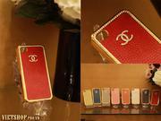 Ốp da Gucci-LV-Channel iPhone 4/4S