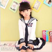 V774 Bộ váy thủy thủ cho bé gái 16 - 50kg size 110 - 170