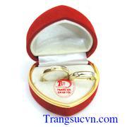 Cặp nhẫn cưới vàng