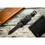 Dây đồng hồ da thật Handmade cho Apple Watch ( 38mm và 42mm ) – Mẫu BF02D73 CUFF