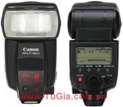 Đèn Flash: Canon Speedlite 580 EX II