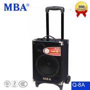 Máy trợ giảng kéo tay Professional Audio MBA Q-8 USB/SD card