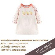 Little Maven-Váy 3 chú gà con 5T