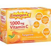 Emergen-C Dietary Supplement Drink Mix with 1000 mg Vitamin C, 0.33 Ounce Packets, Caffeine Free (Ta...