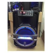 Loa kéo bluetooth TemeiThenh (3 tấc) + 2 micro + usb 4g (Đen)