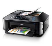 Máy Fax Canon PIXMA MX897, In, Scan, Copy, Fax, In phun màu