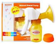 Máy hút sữa bằng tay Wesser M-871