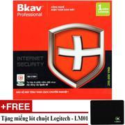 Phần mềm diệt virus Bkav Pro Internet Security + Tặng Lót Chuột LM01
