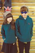 Áo rúc couple xanh