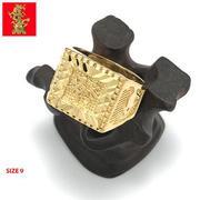 Nhẫn Nam Mạ Vàng 24k