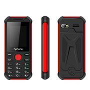 Điện thoại Hphone A186 màu đen đỏ