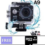 Camera hành trình du lịch chống thấm nước + Thẻ nhớ 8GB (Đen)