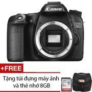 Canon EOS 70D 20.2MP Body (Đen) + Tặng 1 túi đựng máy ảnh và 1 thẻ nhớ 8GB - Hãng phân phối chính th...