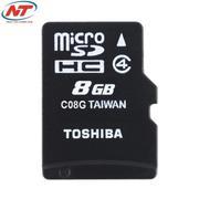 Thẻ Nhớ MicroSDHC Toshiba 8GB Class 4 (Đen)